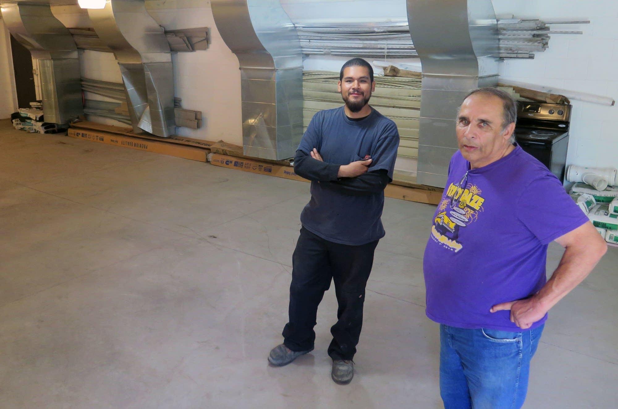 Rudy Hernandez and Tony Olivolo