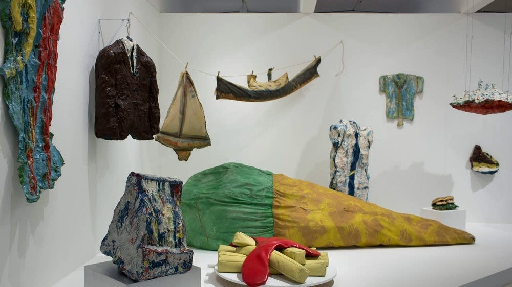 Claes Oldenburg The Sixties Maps Road To The Spoonbridge Mpr News