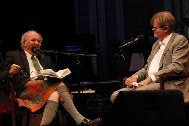 Alexander McCall Smith and Garrison Keillor