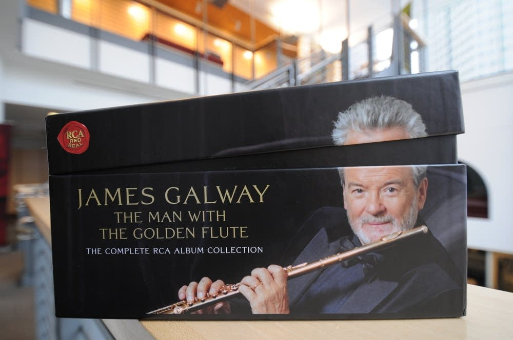 James Galway's new box set