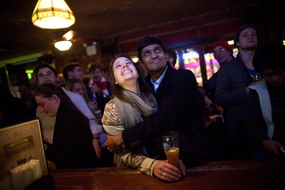 Re-election reaction in N.Y.