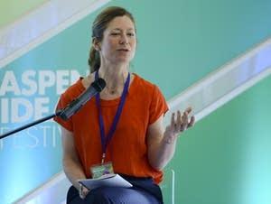 Jo Marchant spoke at the Aspen Ideas Festival.