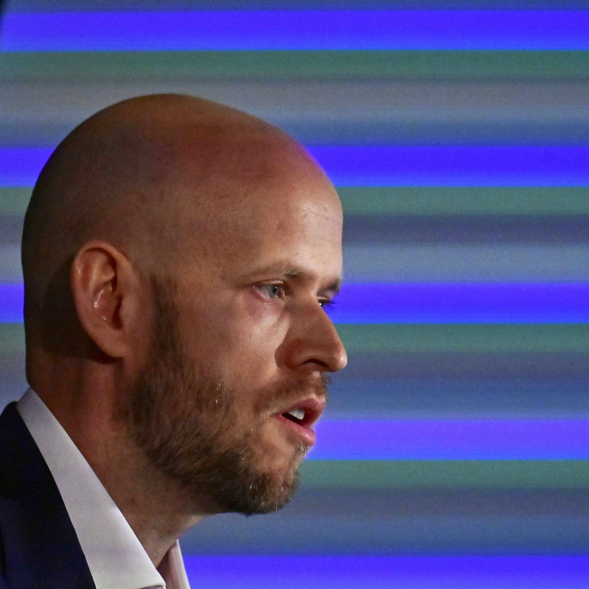 Spotify CEO Daniel Ek in Berlin, 2019.