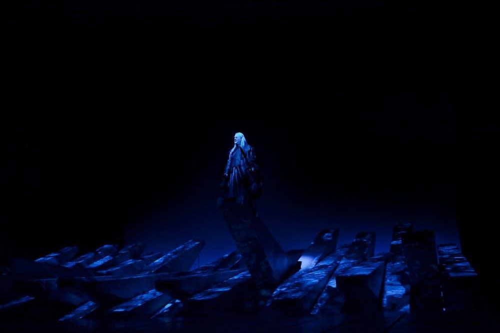 Bryn Terfel as the Wanderer