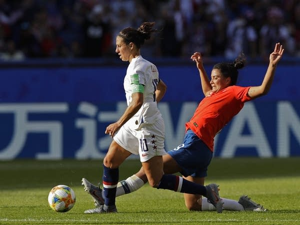 Carli Lloyd of the U.S.