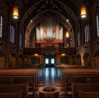1966 Schlicker at Mount Olive Lutheran Church, Minneapolis