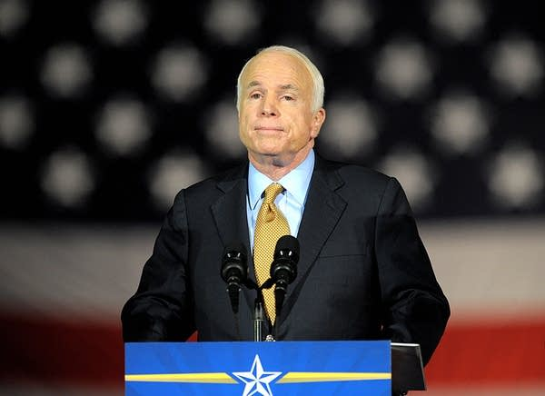 John McCain concedes the election to Obama
