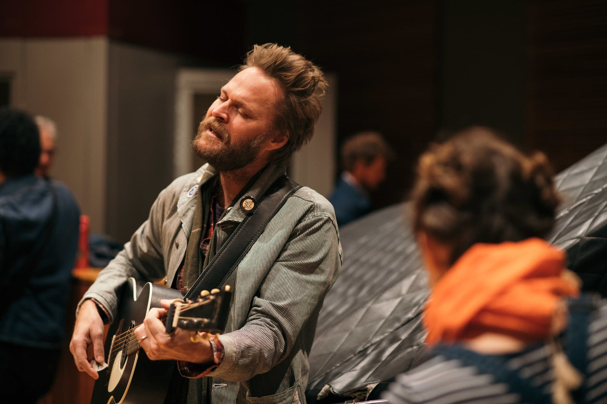 Hiss Golden Messenger perform in The Current studio