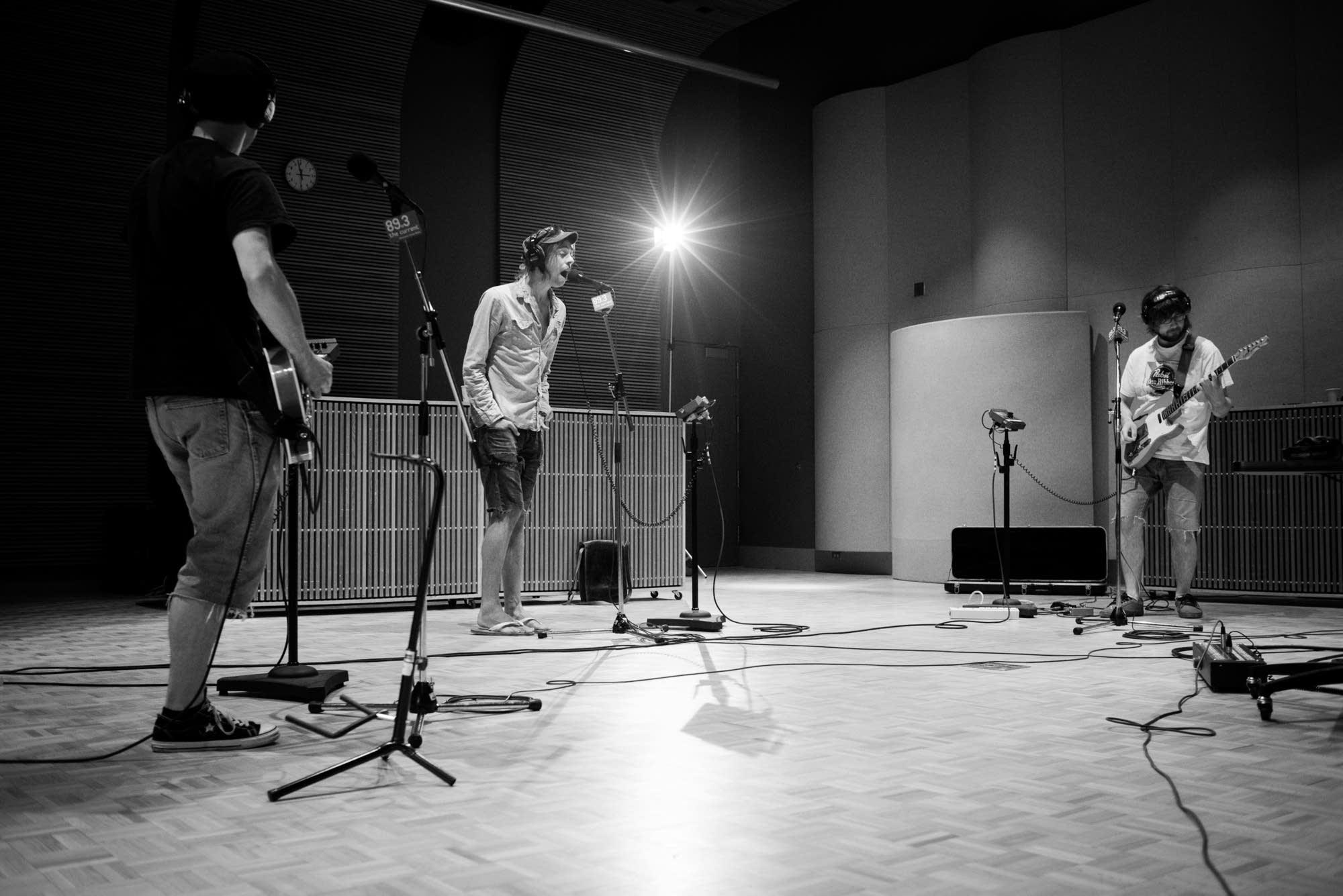 The Goondas in the Current studios