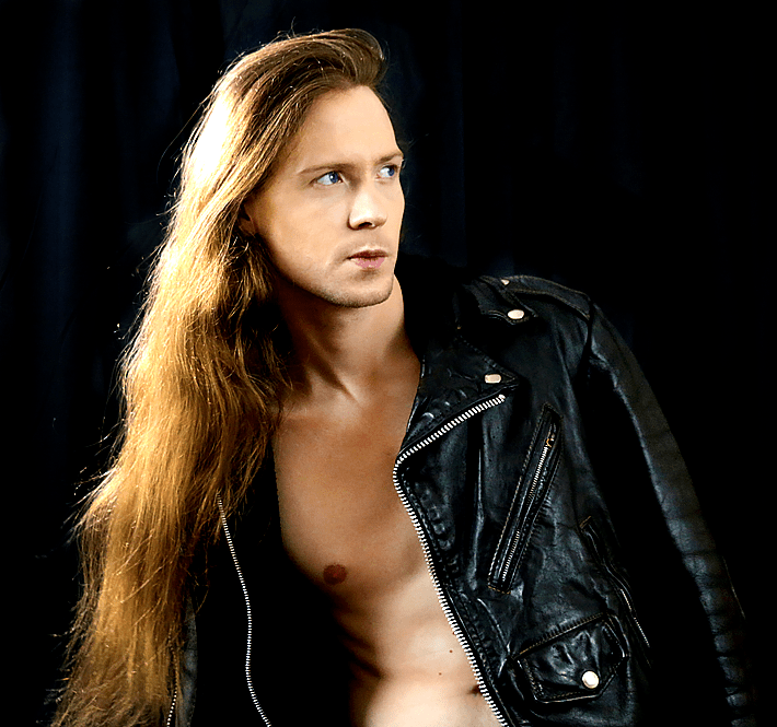 A promotional image of Jared Threatin.