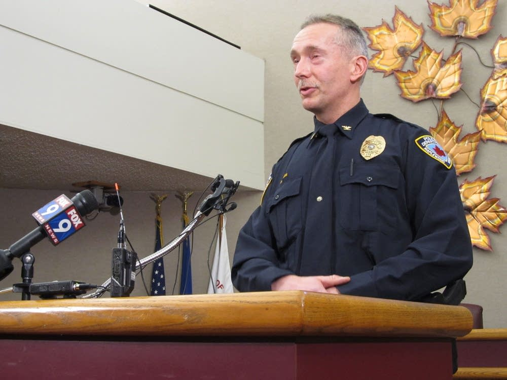 Acting Maplewood Police Chief Dave Kvam