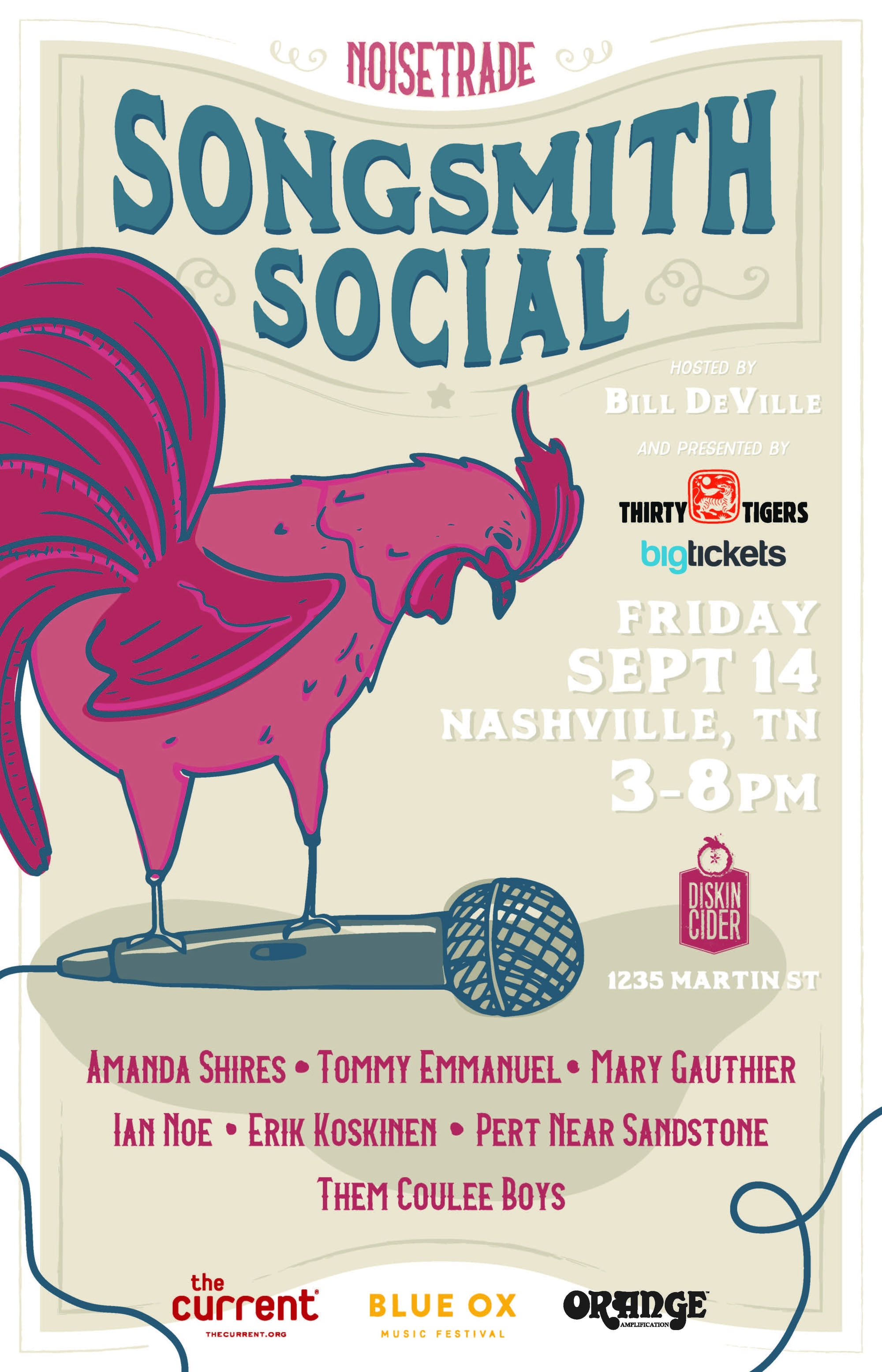 Songsmith Social in Nashville