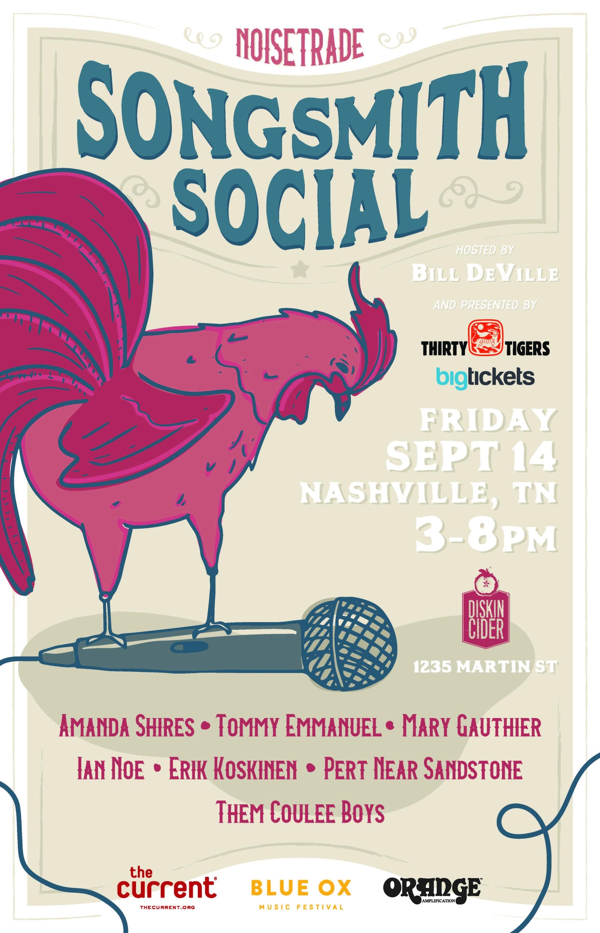 Songsmith Social in Nashville