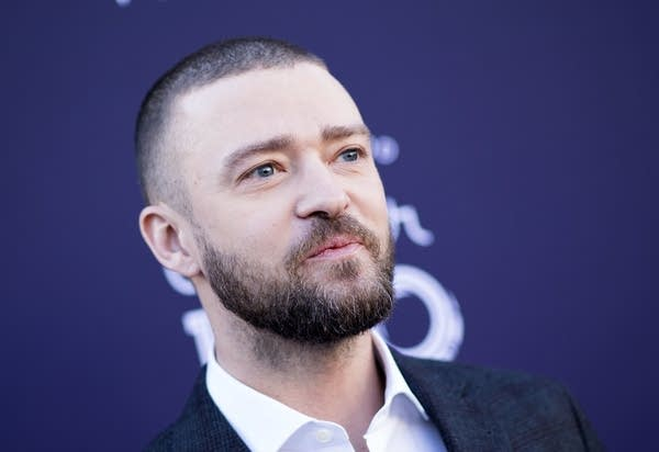 Justin Timberlake at a Women in Entertainment breakfast event.