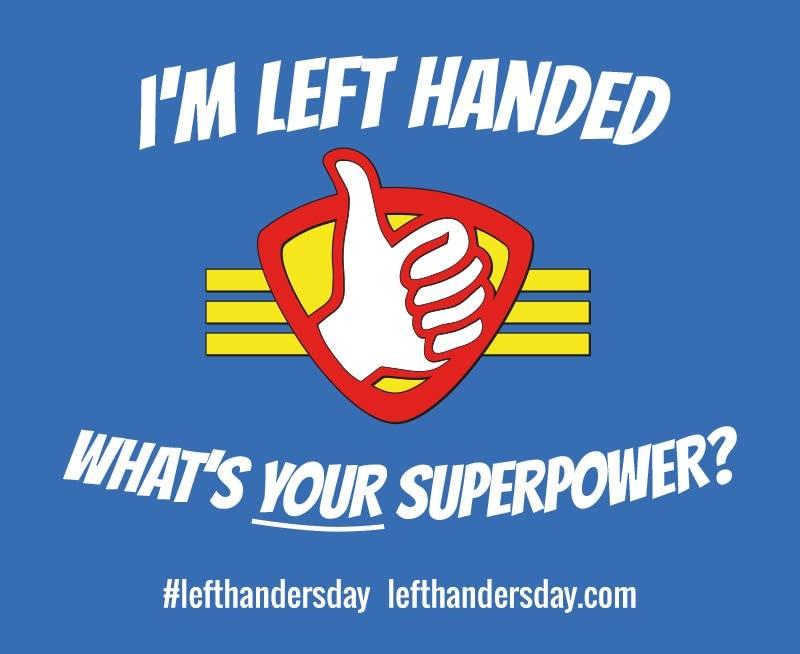 It's Left-Handers' Day