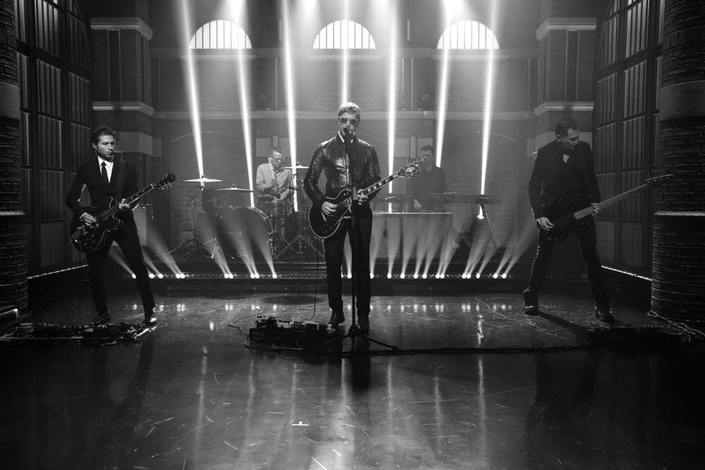 Interpol perform on 'Late Night with Seth Meyers'