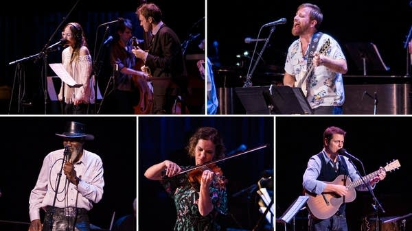 Fiona Apple, Dan Auerbach, Robert Finley, Hilary Hahn, Nick Offerman