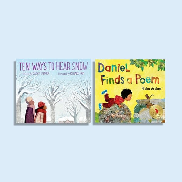Julie's Library: Ten Ways to Hear Snow & Daniel Finds a Poem