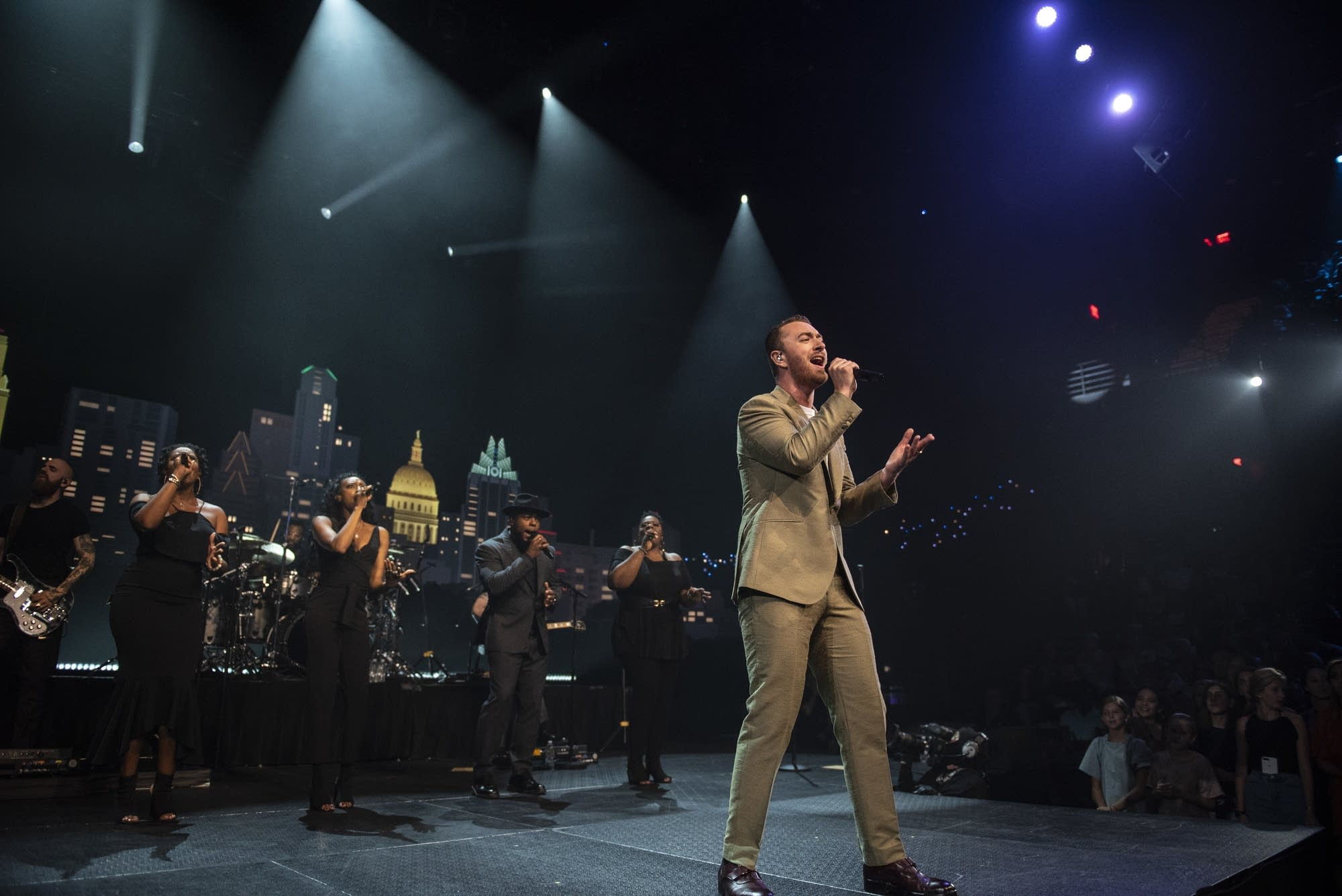 Sam Smith performs on 'Austin City Limits'