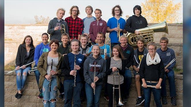 Anoka High School Pep Band