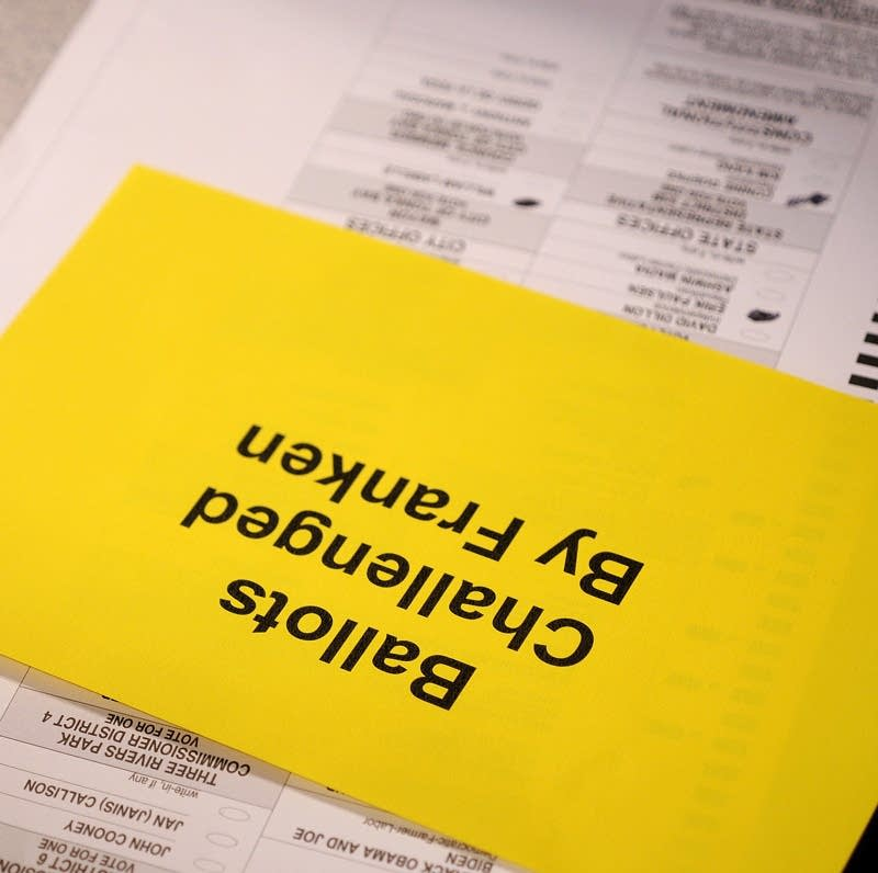 Contest ballots
