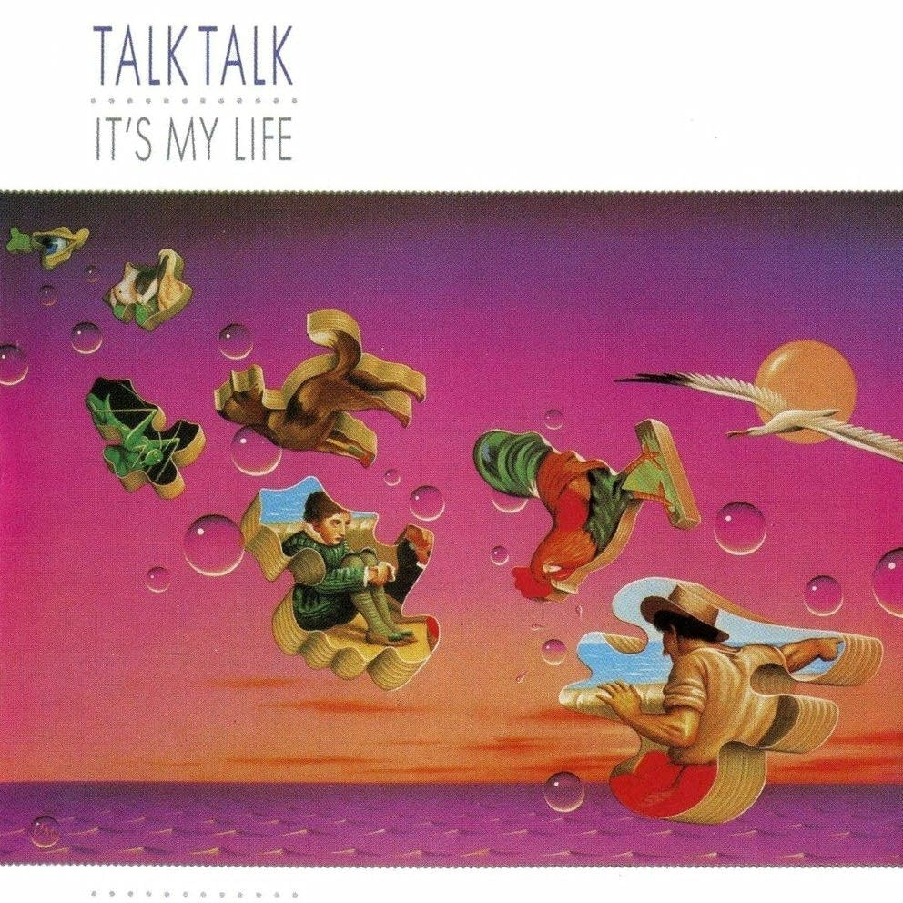 Cover art for Talk Talk's 1984 album 'It's My Life.'