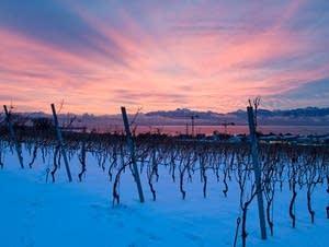 solstice sunrise in Switzerland