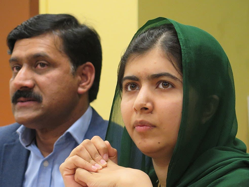 Malala Yousafzai visits Minneapolis