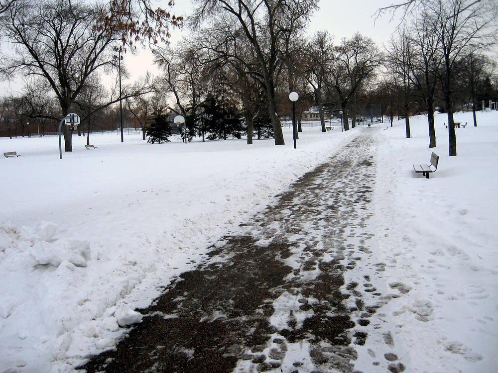 MLK Park in Minneapolis