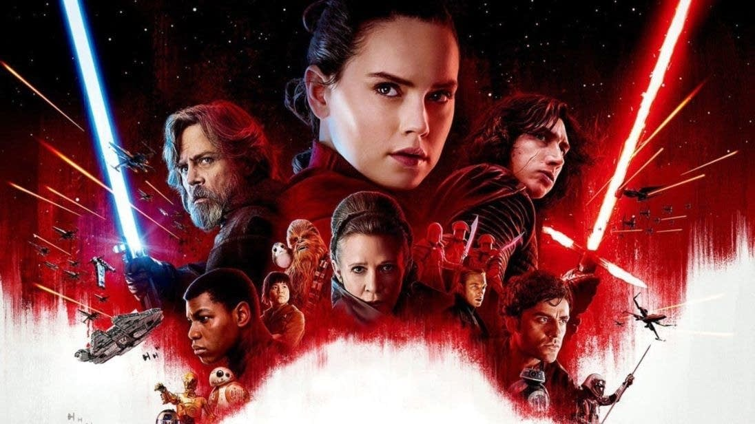 'Star Wars: The Last Jedi' poster art.