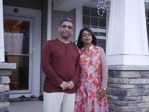 Dharminder Kumar and Shefali Chahal