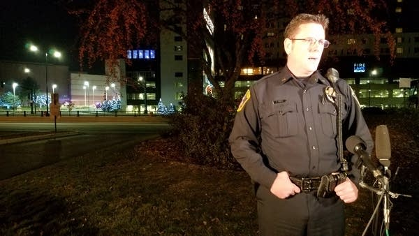 Bloomington police chief Jeff Potts