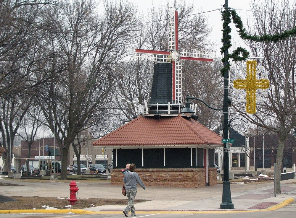 Downtown Orange City, Iowa