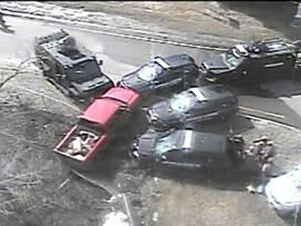 Highway 100 in Edina reopens after being closed due to