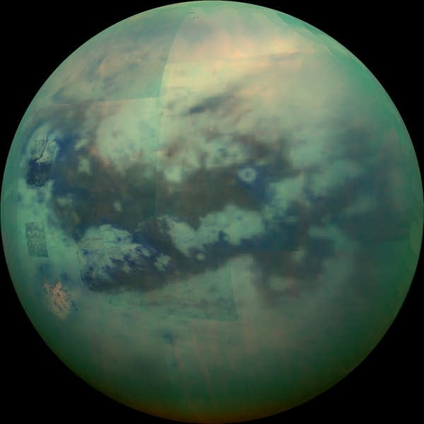 Infrared view of Titan