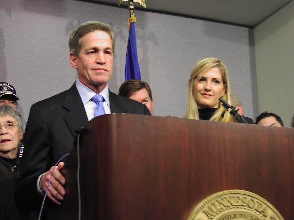 Norm Coleman announces his challenge