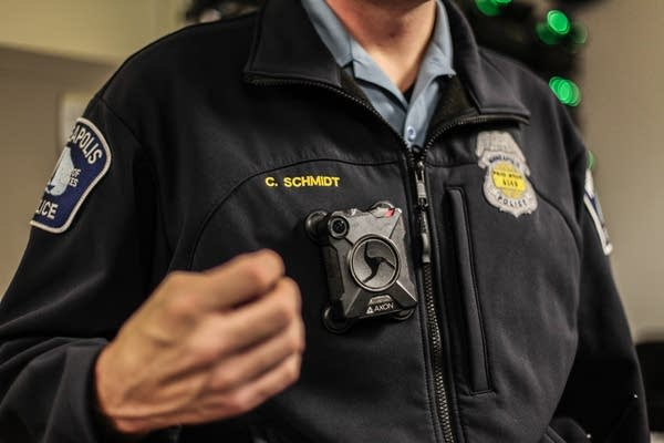 Minneapolis Police Departments body cameras.