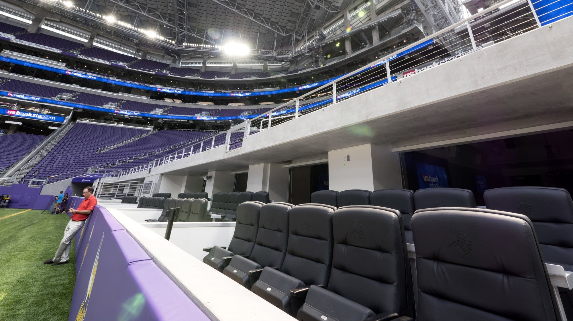 Seats are closest to sidelines of any NFL stadium.