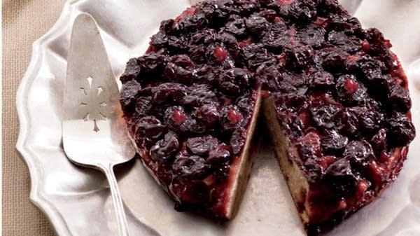 Upside Down Cherry Cake