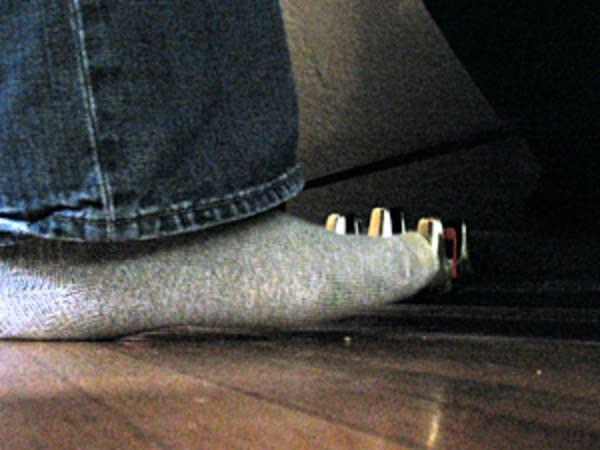 Not-so-fancy feet