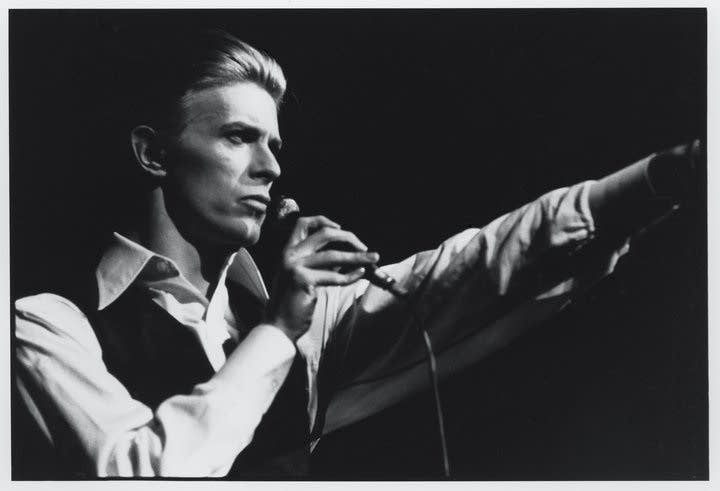 Black and White David Bowie