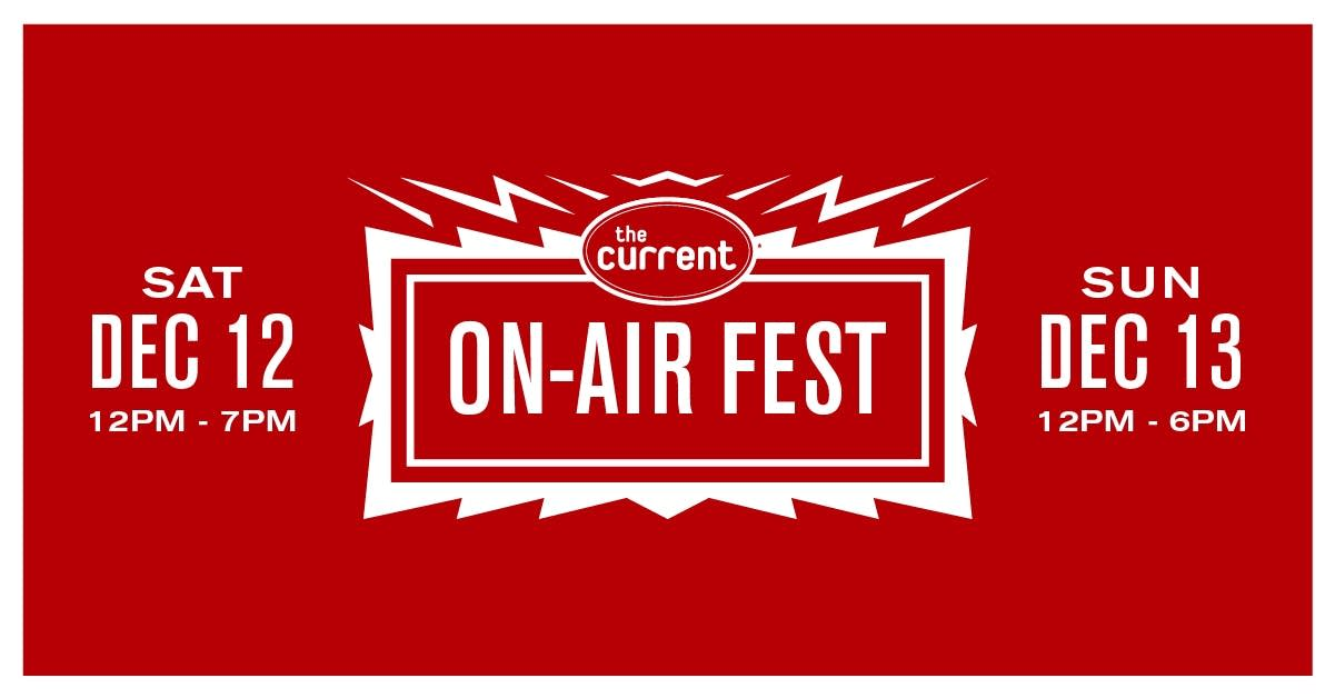 On-Air Fest December 2020 visual asset 1200x628