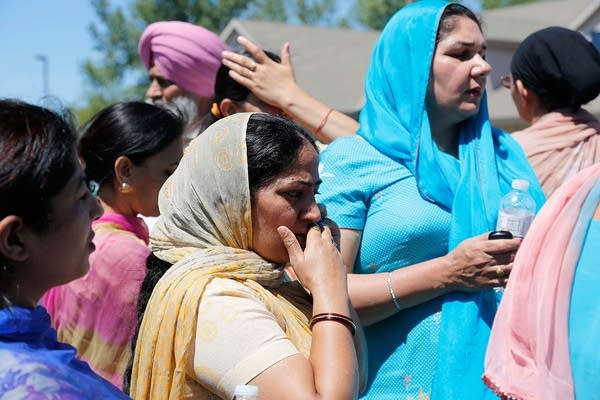 Bystanders at Sikh Temple