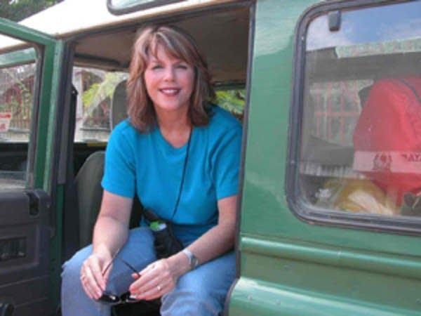 Kerri Miller in Tanzania