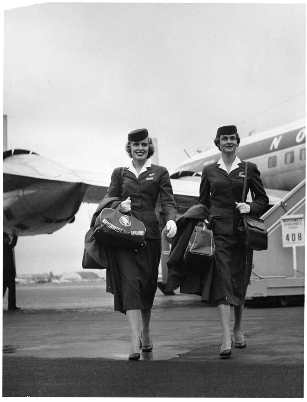 1952 flight attendants