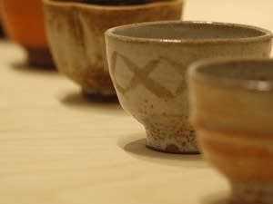 Bowls made by Warren MacKenzie.