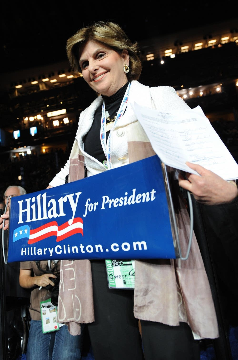 Hillary supporter Gloria Allred