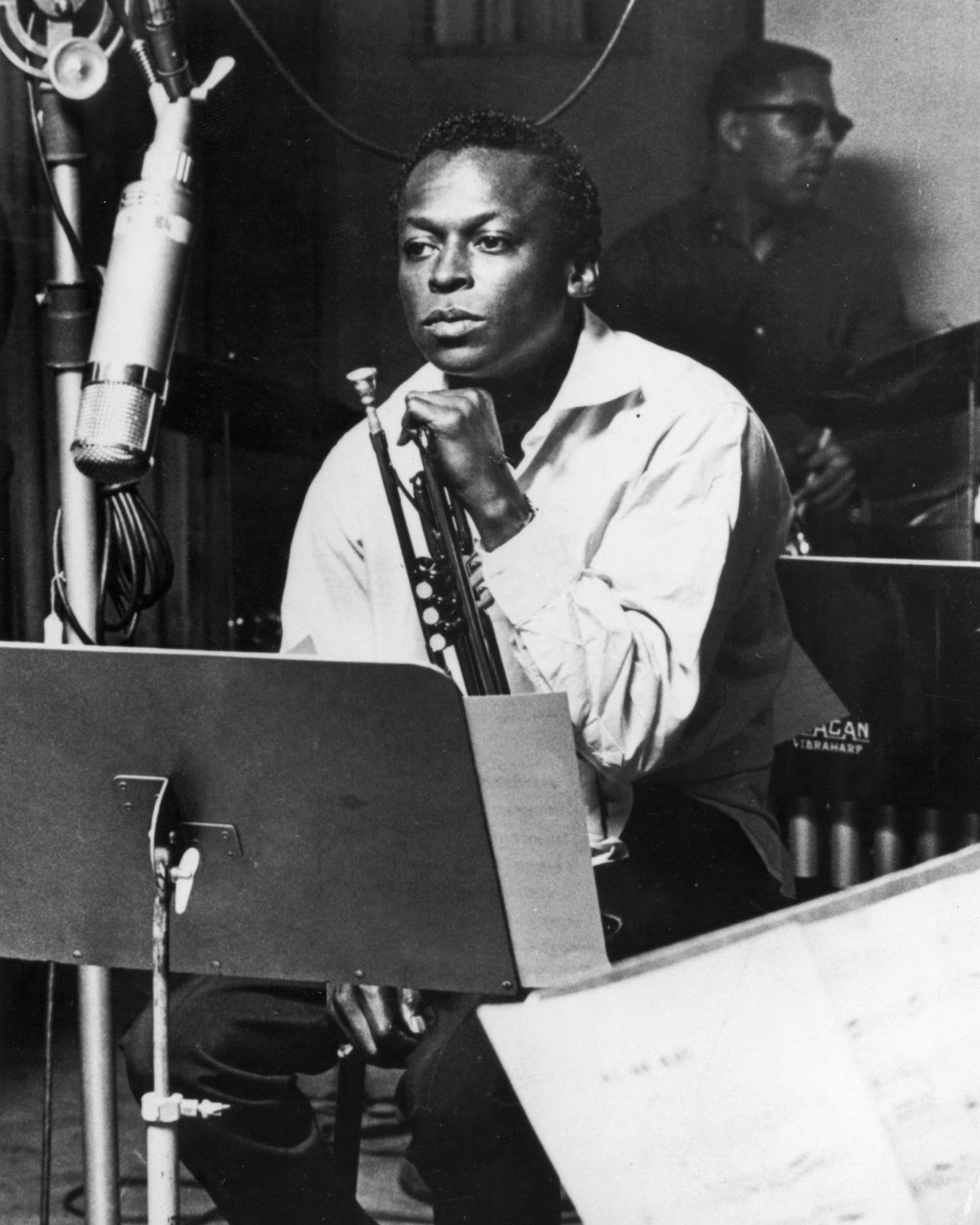Miles Davis In Recording Studio