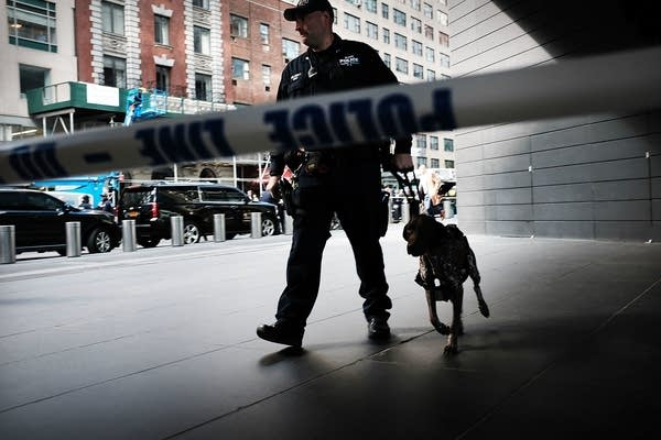 Time Warner Center evacuated after suspicious package received.