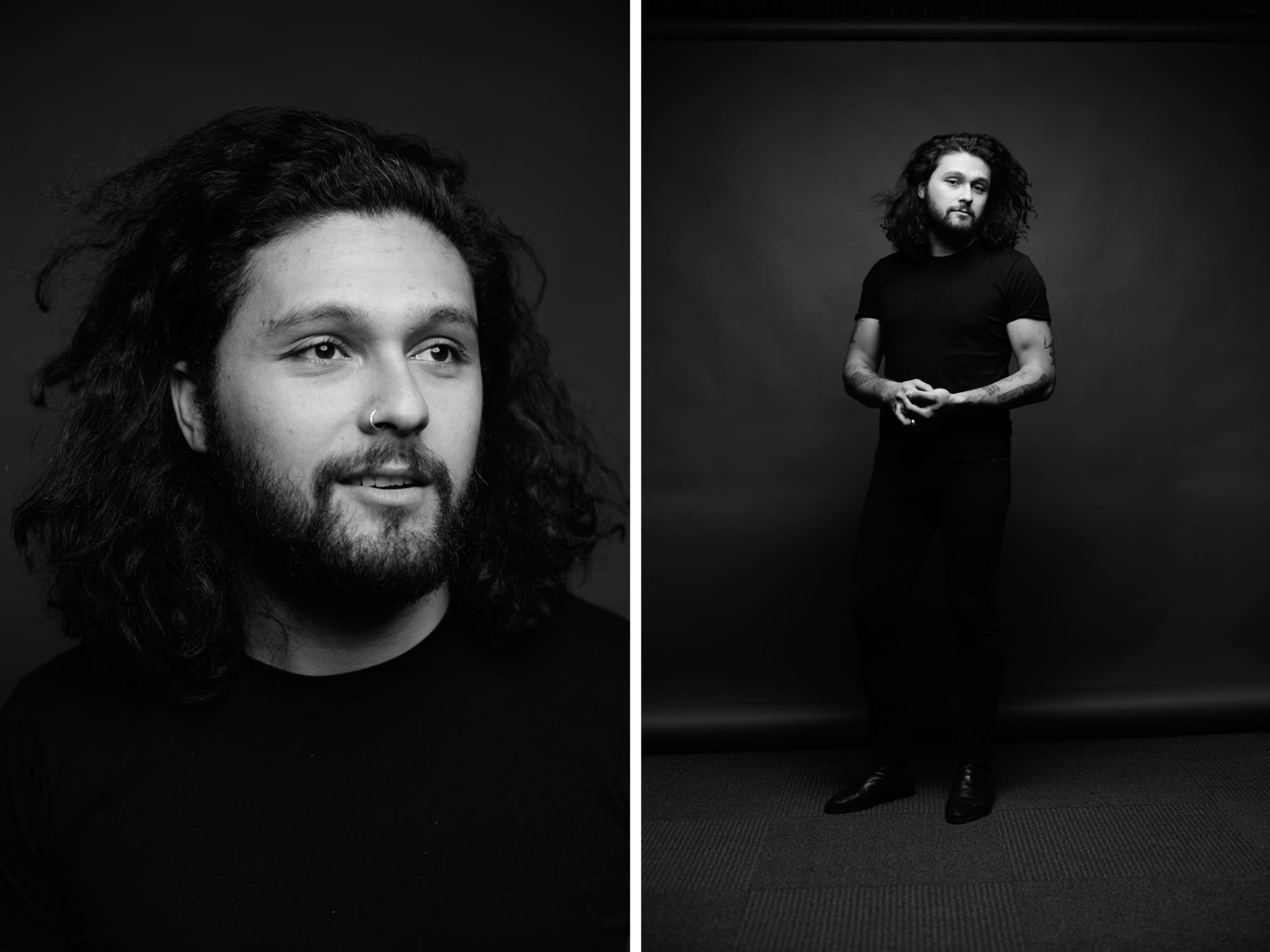 David Le'aupepe of Gang of Youths, portraits at The Current